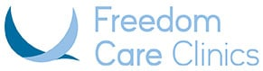 Bird logo for Freedom Care Clinics Leeds & Manchester providing osteopathy, physiotherapy & chiropractic
